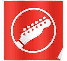 Headstock Rock - Rhythm Poster
