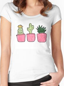 Plants  Women's Fitted Scoop T-Shirt