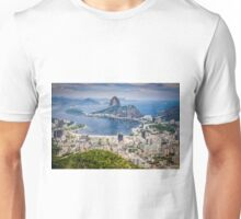 Rio de Janeiro aerial view Unisex T-Shirt