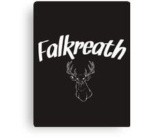 Skyrim 'Falkreath' Canvas Print