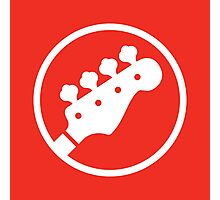 Headstock Rock - Bass Photographic Print