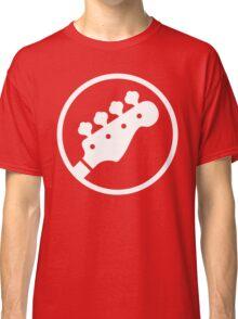 Headstock Rock - Bass Classic T-Shirt