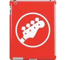 Headstock Rock - Bass iPad Case/Skin