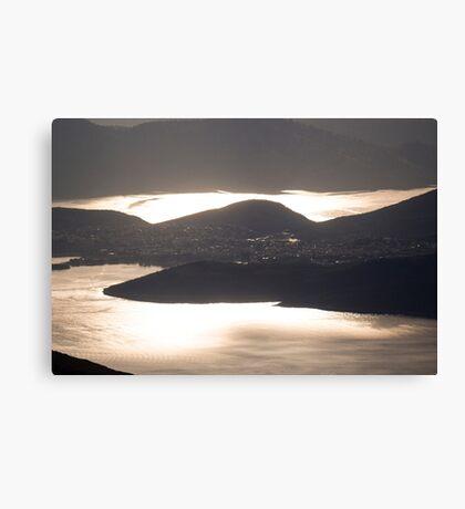 Golden Sea - Nature Photography Canvas Print