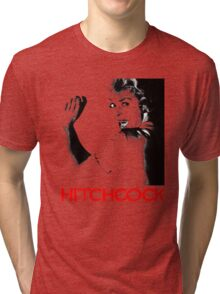 ALFRED HITCHCOCK - JANET LEIGH Tri-blend T-Shirt