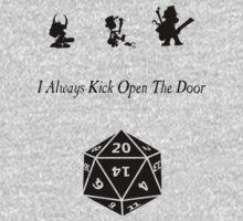 i always kick open the door One Piece - Long Sleeve
