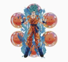 Dragon Ball Z - Goku Powering Up Kids Tee