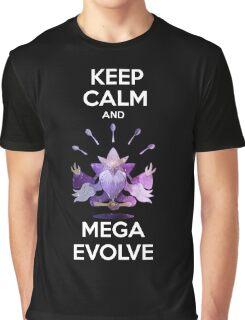 Keep Calm and MegaEvolve! MEGA ALAKAZAM Graphic T-Shirt