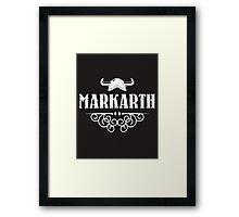Skyrim 'Markarth' Framed Print