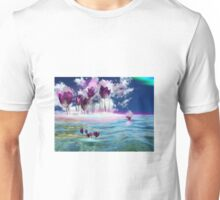 Tulips in water Unisex T-Shirt