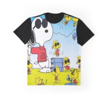 Snoopy And Woodstok Graphic T-Shirts Graphic T-Shirt