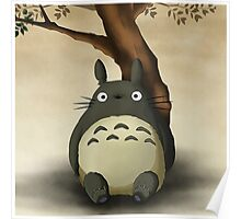 My Neighbor Totoro Studio Ghibli Poster