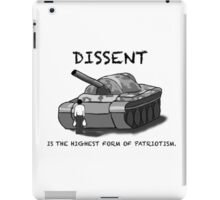 Dissent iPad Case/Skin