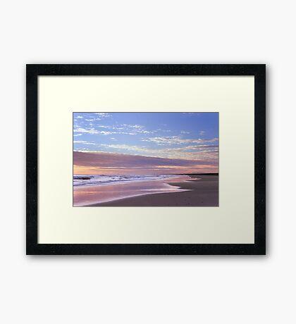 Colorful Marina Framed Print