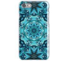 Blue mandala. Ethnic design iPhone Case/Skin