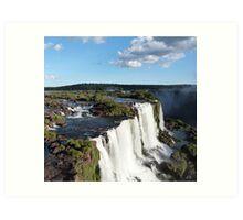 Iguazu Falls Art Print