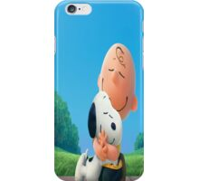The Peanuts Charlie Brown Snoopy iPhone Case/Skin