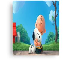 The Peanuts Charlie Brown Snoopy Canvas Print