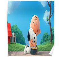 The Peanuts Charlie Brown Snoopy Poster