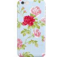 Colorful Flower Floral Design Pattern iPhone Case/Skin