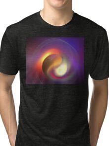 Purple Vortex Tri-blend T-Shirt