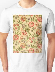Colorful Flower Floral Design Pattern Unisex T-Shirt