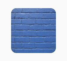 Blue Brick Wall  Unisex T-Shirt