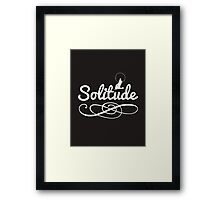 Skyrim 'Solitude' Framed Print