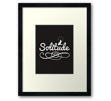 Skyrim 'Solitude' Framed Print