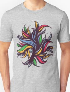 Abstract floral composition. Unisex T-Shirt