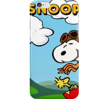 Snoopy Flying iPhone Case/Skin