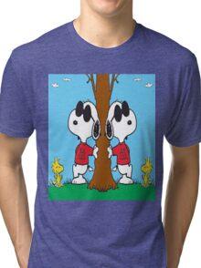 Snoopy Joe Cool Tri-blend T-Shirt