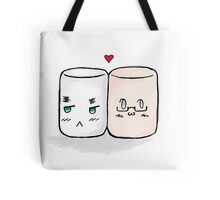 USUK marshmallow  Tote Bag
