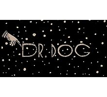 Dr Dog Toothbrush Photographic Print