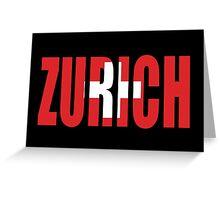 Zurich. Greeting Card