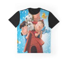 Meet Snoopy and Charlie Brown Graphic T-Shirt