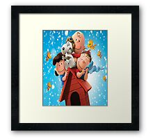 Meet Snoopy and Charlie Brown Framed Print