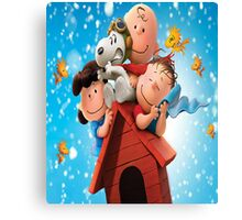 Meet Snoopy and Charlie Brown Canvas Print