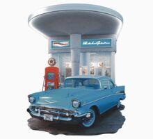 1957 Chevrolet Bel Air Day Baby Tee