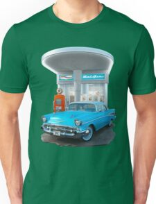 1957 Chevrolet Bel Air Day Unisex T-Shirt