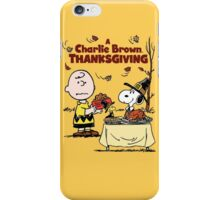 A Charlie Brown Thanksgiving iPhone Case/Skin
