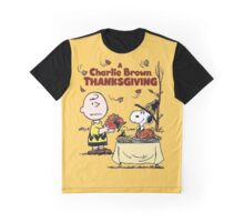 A Charlie Brown Thanksgiving Graphic T-Shirt
