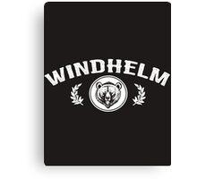 Skyrim 'Windhelm' Canvas Print