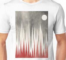 Snow Cap Mountains Unisex T-Shirt
