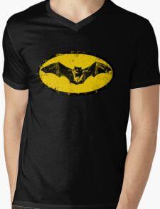 Bat logo  Mens V-Neck T-Shirt