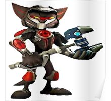 ratchet et clank armure Poster