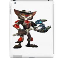 ratchet et clank armure iPad Case/Skin