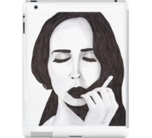 Lana in ink iPad Case/Skin