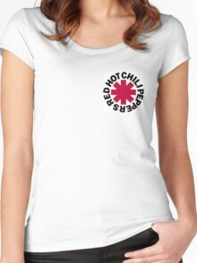 Red Hot Chilli Peppers Women's Fitted Scoop T-Shirt