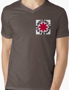 Red Hot Chilli Peppers Mens V-Neck T-Shirt